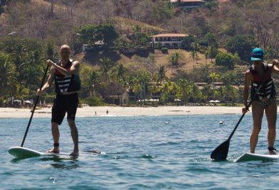 Clases Stand Up Paddle en Tamarindo
