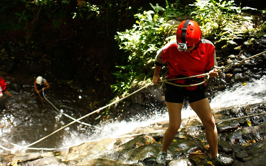 Adventure activities in Turrialba